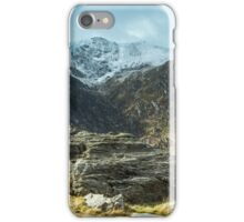 Cwm Idwal Views Snowdonia iPhone Case/Skin