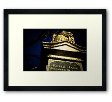 Death Is Only Temporary  Framed Print