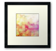 Pixel Me Silly. Framed Print
