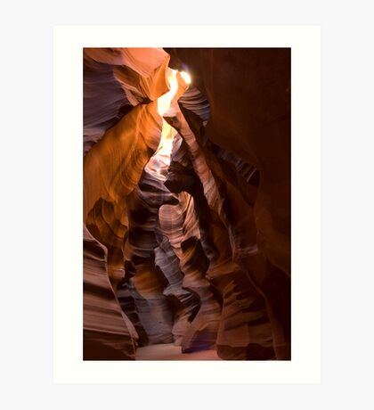 Upper Antelope Slot Art Print