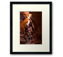 Upper Antelope Slot Framed Print
