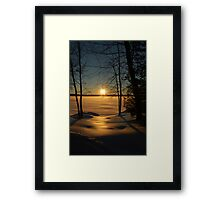 Unity Lake Framed Print