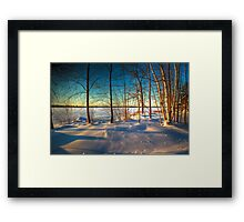 Unity Pond Framed Print