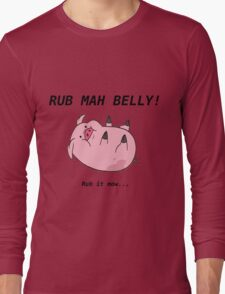 Waddle's Belly Long Sleeve T-Shirt
