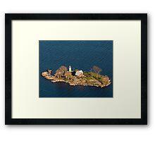 Crossover Island Light Framed Print