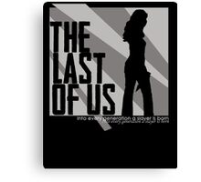Buffy, the Last of Us Canvas Print