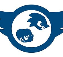 Sonic & Sally Logo by crimda