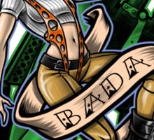 Badaboom STICKER! Sticker