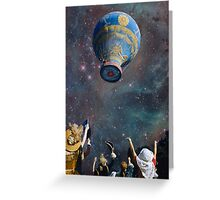 UP.UP.AND AWAY. Greeting Card