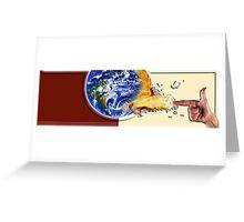 Kaaaaaaa POW! Greeting Card