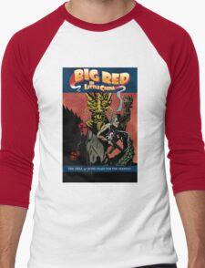 Hellboy/Big Trouble in Little China Mashup Men's Baseball ¾ T-Shirt