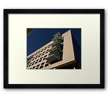 STRS: West Face Horizontal Framed Print