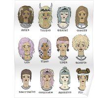 zodiac #1 Poster
