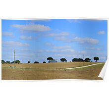 Farm Land in Florida Poster