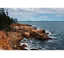 Near Ship Harbor, Acadia National Park, Maine Photographic Print