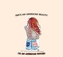 American Beauty/American Psycho by kandyshock