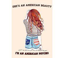 American Beauty/American Psycho Photographic Print
