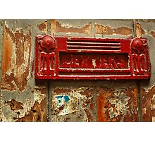 Red Letter Day Photographic Print