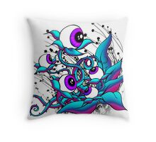 growing vision Throw Pillow