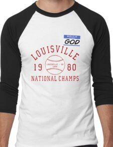 Oz's God costume from Buffy Men's Baseball ¾ T-Shirt