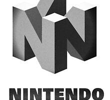 Classic Nintendo, B&W by J F Harrison