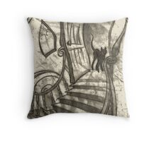 The Attic Throw Pillow