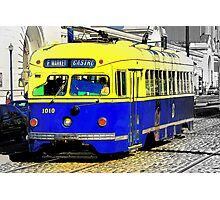 San Fran F-car 2 Photographic Print