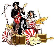 White Stripes Duo by whiteaphex