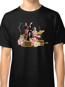 White Stripes Duo Classic T-Shirt