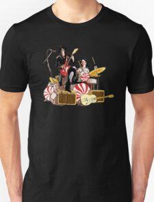 White Stripes Duo Unisex T-Shirt