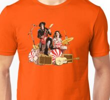 White Stripes Duo Unisex T-Shirt