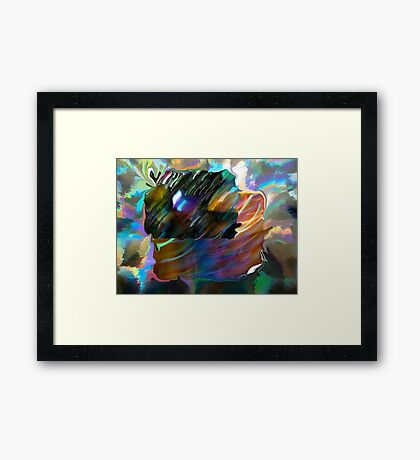 Puzzle Me Out Framed Print