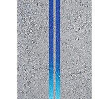 2 Fast 2 Furious Brian's Nissan Skyline GT-R R34 Asphalt Stripes Photographic Print