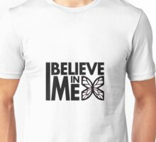 GOWOMAN SLOGAN TEES | I Believe In Me (Black and White) Unisex T-Shirt