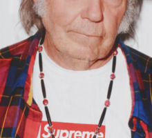 Neil Young for Supreme Media Cases, Pillows, and More. Sticker
