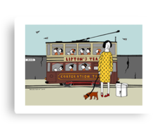 Old Tram Canvas Print
