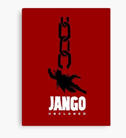 JANGO UNCLONED Canvas Print