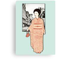 Japanese Line Canvas Print
