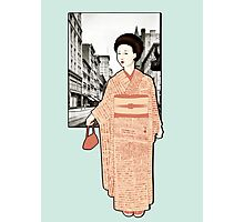 Japanese Line Photographic Print