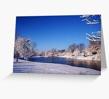 Winter Scene 1 Greeting Card