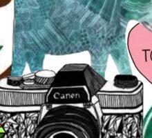 tumblr pics collage Sticker