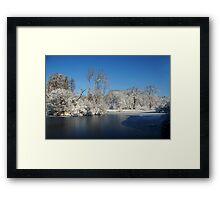 Winter Scene 2 Framed Print