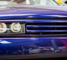 Purple VW Corrado Sticker