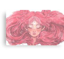 Chibi Moon Canvas Print