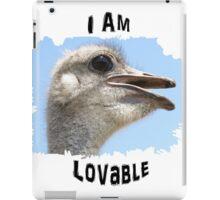 I Am Lovable iPad Case/Skin