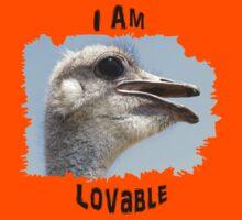 I Am Lovable Kids Tee