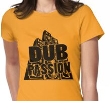 DUB PASSION BLACK Womens Fitted T-Shirt