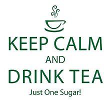 Keep Calm and Drink Tea ~ Burketeers Travel Mug by burketeer