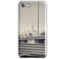 Staring at the Empire State Building iPhone Case/Skin