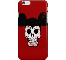 Mickey Skull. iPhone Case/Skin